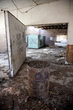 Abandoned Building Interior royalty free stock photography