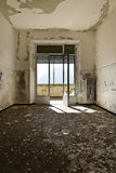 Abandoned building, interior Stock Photo