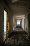 Abandoned Building Interior Stock Image