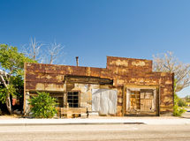 Abandoned building Nevada Royalty Free Stock Photo