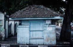 An abandoned building old at jogja yogyakarta indonesia. Java Stock Photo