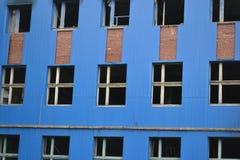 Abandoned building in Oranienbaum. Stock Photo