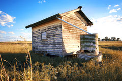 Abandoned building in the outback. Royalty Free Stock Photography