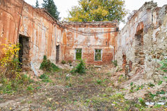 Abandoned building outdoors Royalty Free Stock Images