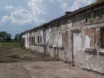 Abandoned building. Photos taken outside the city Royalty Free Stock Photo