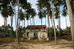 Abandoned building in Vietnam Stock Images