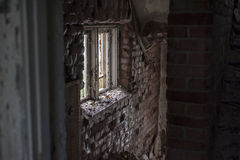 Abandoned buildings. Royalty Free Stock Photography