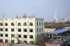 Abandoned buildings china Royalty Free Stock Photos