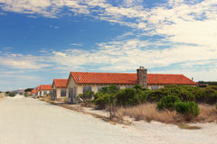 Abandoned Buildings at Historic Fort Ord Royalty Free Stock Photography
