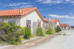 Abandoned Buildings at Historic Fort Ord Stock Image