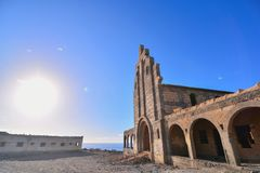 Abandoned Buildings of a Military Base Royalty Free Stock Photo