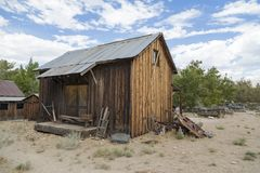 Inyo County Ghost Town Royalty Free Stock Photography