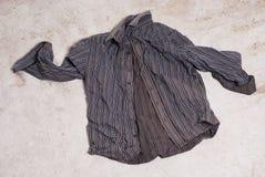 Abandoned business shirt. Stock Photography