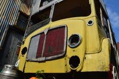 Abandoned bussar Arkivbilder