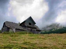 Abandoned cabana Royalty Free Stock Photo
