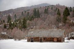 Abandoned cabana Stock Image