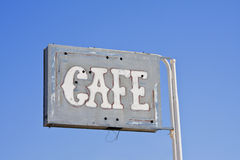 Abandoned Cafe Royalty Free Stock Photo