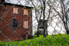 Abandoned Camp Building Stock Photos