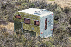 Abandoned camper Stock Photography