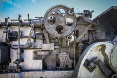 Abandoned Cannon Detail Royalty Free Stock Images