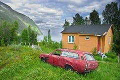 Abandoned car Royalty Free Stock Photo