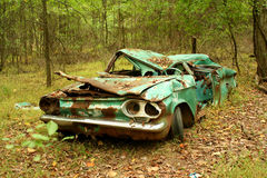 Abandoned car Royalty Free Stock Image