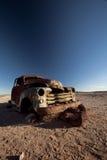 Abandoned Car Stock Image