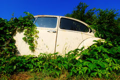 Abandoned car Royalty Free Stock Photo