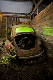 Abandoned car Royalty Free Stock Photos