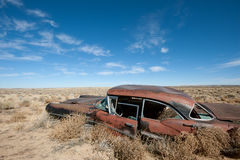 Abandoned car Stock Photos