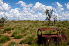 Abandoned car - Australia Stock Photos