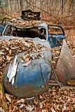 Abandoned Car Automobile royalty free stock photos