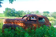 Abandoned Car Stock Images
