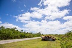Abandoned car Royalty Free Stock Photos