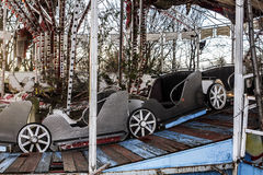 Abandoned car's carousel Stock Photo