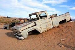 Abandoned car Stock Photos