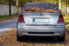 Abandoned car Royalty Free Stock Image