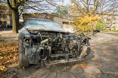 abandoned car vehicle Stock Photos