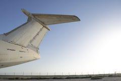 Abandoned cargo airplane Stock Image
