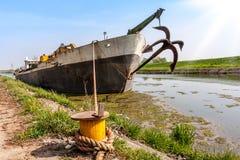 Abandoned cargo Stock Image
