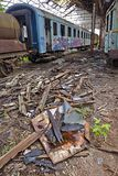 Abandoned Carriage Stock Images
