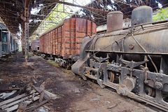 Abandoned Carriage Stock Image