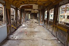 Abandoned Carriage Royalty Free Stock Image