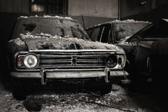 Abandoned cars Royalty Free Stock Photo