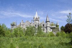 Abandoned castle Royalty Free Stock Photo