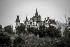 Abandoned castle in Belgium. An abandoned castle in Belgium Stock Images