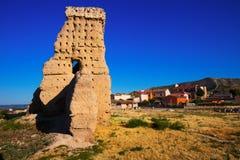 Abandoned castle of Palenzuela Royalty Free Stock Photography