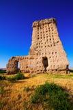 Abandoned castle of Palenzuela Stock Images