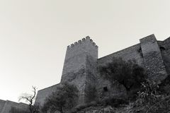 Abandoned castle photo. Photo detail of Abandoned castle Royalty Free Stock Photos