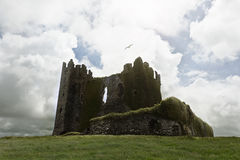 Abandoned castle ruins Royalty Free Stock Photography